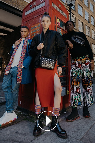 THE KURT GEIGER X GUAP AW21 CAMPAIGN: 'TOGETHER, WE MOVE'