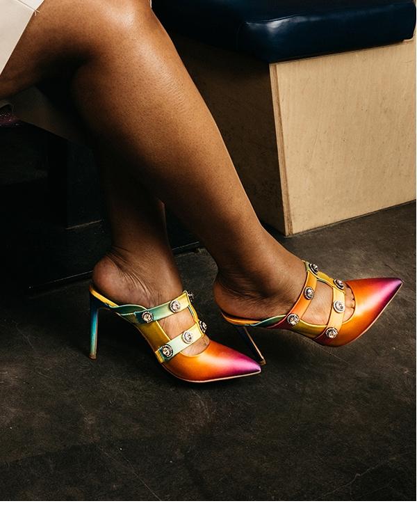Close up of Heels. Shop Heels.
