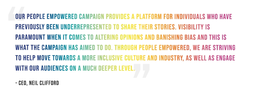 Neil Clifford on People Empowered Campaign