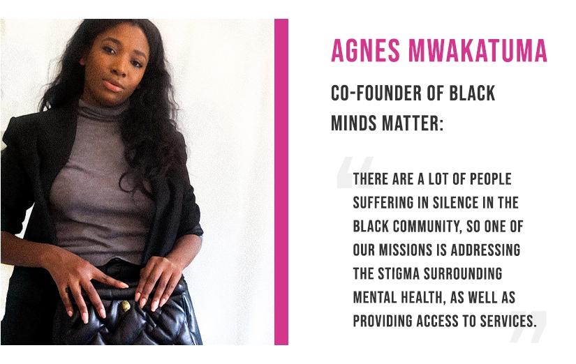 Agnes Mwakatuma - Black Minds Matter