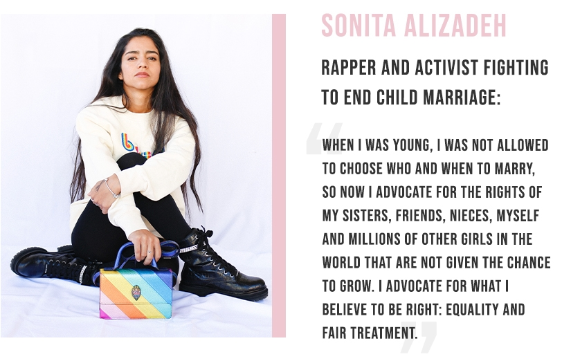 Sonita Alizadeh - Rapper and activist fighting to end child marriage