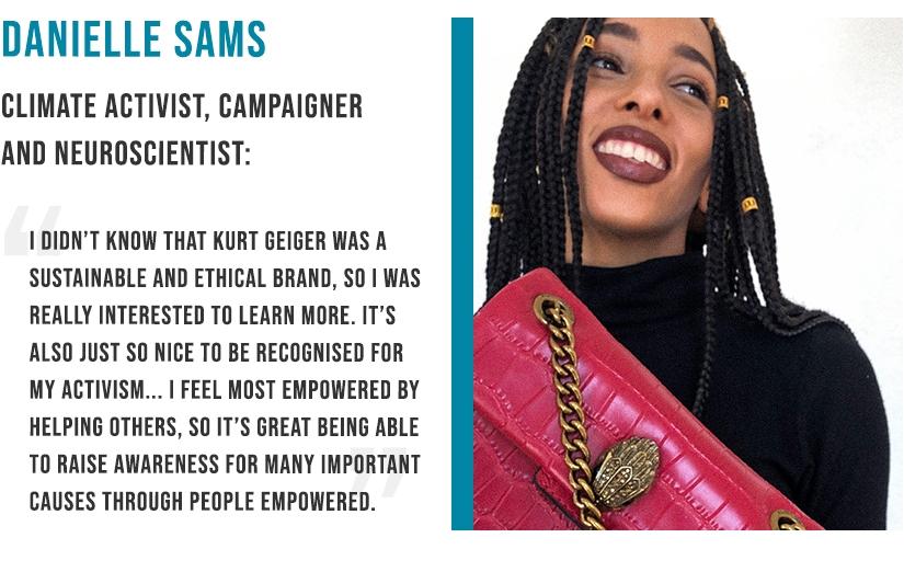 Danielle Sams - Climate activist
