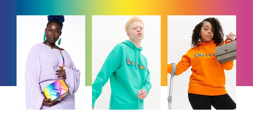 People Empowered modelling be kind hoodies and sweaters